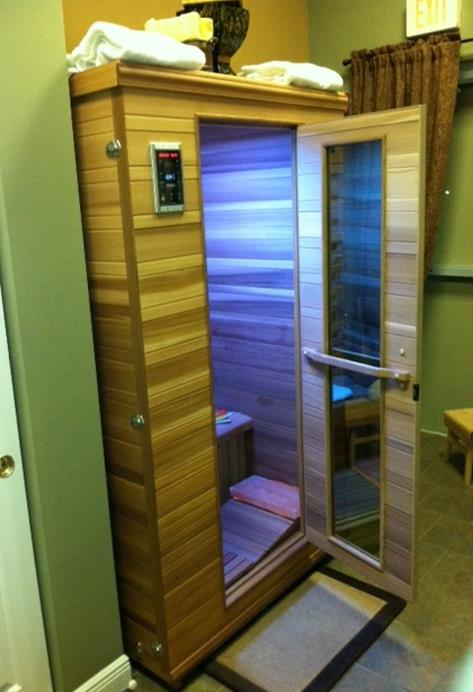 INFRARED SALT SAUNA